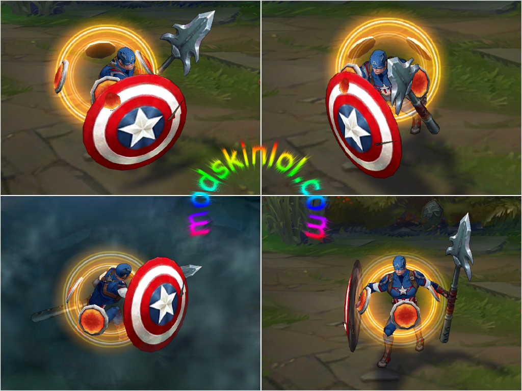 Mod Skin Captain America Pantheon