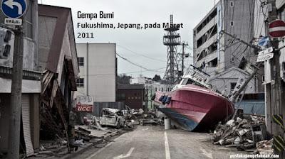 Sejarah gempa bumi besar - pustakapengetahuan.com