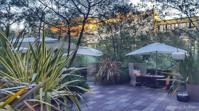 Jardín de Mimosas Barcelona vista