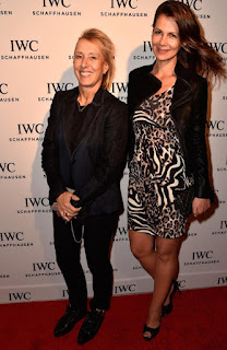 Martina Navralitova And Julia Lemigova Posing At An Event