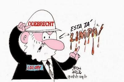 Resultado de imagem para lobista lula charge