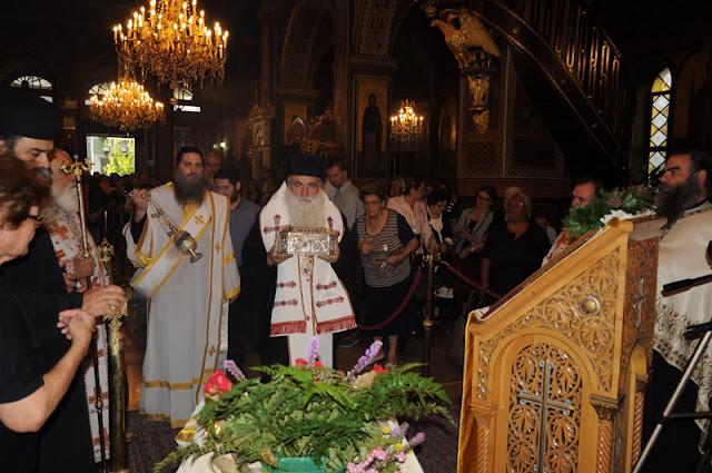 Τα λείψανα του Αγίου Λουκά στον Πειραιά από τον Μητροπολίτη Αργολίδος Νεκτάριος