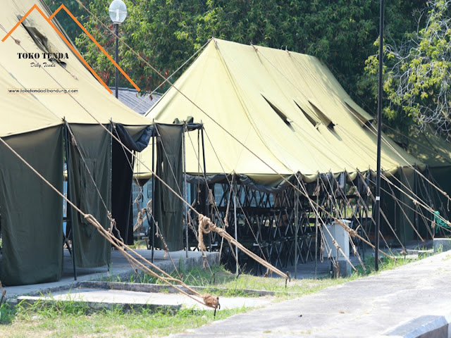 Tenda - Pleton - Standar - TNI