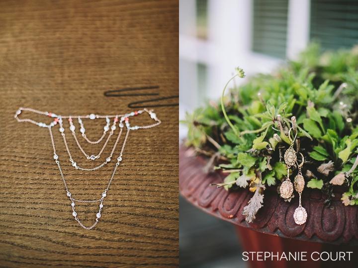 wedding jewelry details
