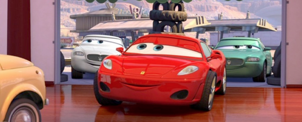 Dan The Pixar Fan Cars Michael Schumacher Ferrari F430