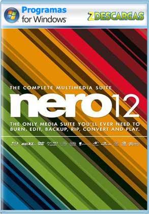 Descargar Nero Express 12 full 1 link español mega y google drive /