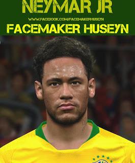 PES 2017 Neymar Jr by Facemaker Huseyn