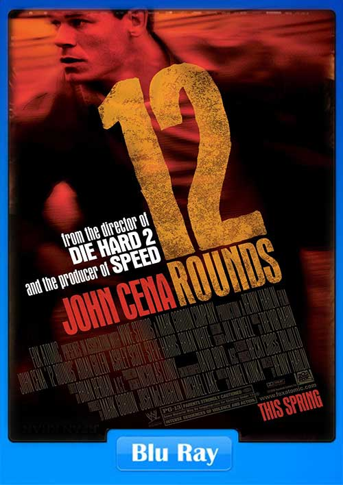 12 Rounds 2009 720p BluRay 800MB x264 Poster