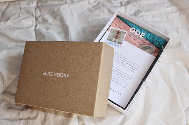 Birchbox - Août 2014