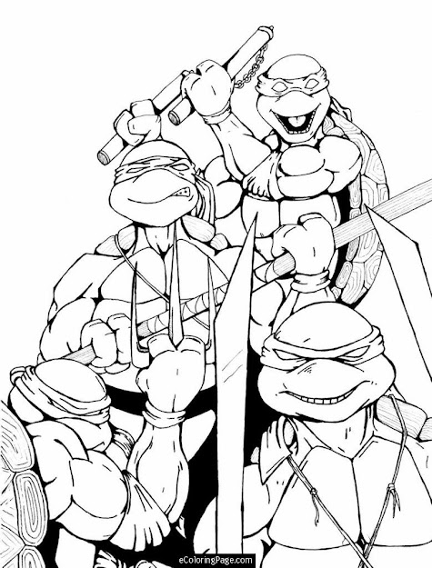 Tmnt Coloring Pages Printable  Teenage Mutant Ninja Turtles Coloring Page  For Kids Printable  Ninja