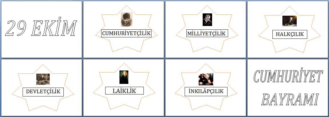 29 Ekim Panosu Başlık Ve Atatürk Ilkeleri Etkinliği Dersteknikcom