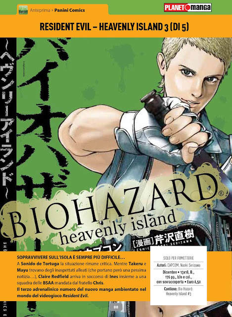 Resident Evil Heavenly Island #3