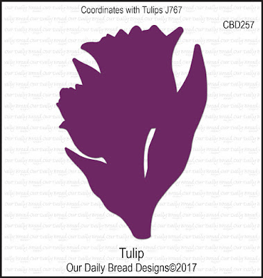 Our Daily Bread Designs Custom Die: Tulip
