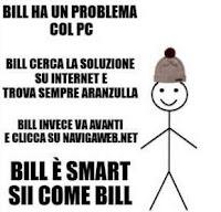 Le istruzioni di Sii come Bill per imparare a comportarsi su Facebook