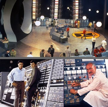 Montage of stills from The Time Tunnel TV series