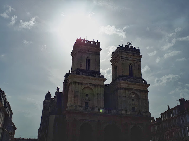 The magnificent cathedral of Auch, Occitanie
