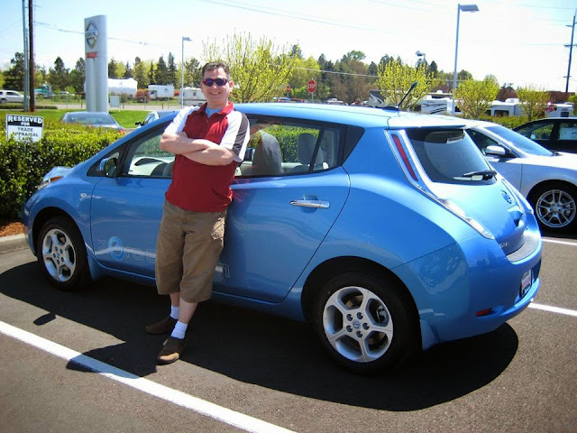 May 18th 2011   The Day I Picked Up My Nissan Leaf