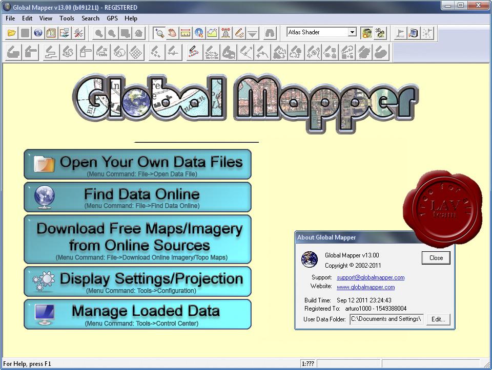 global mapper v14.1 gratuit