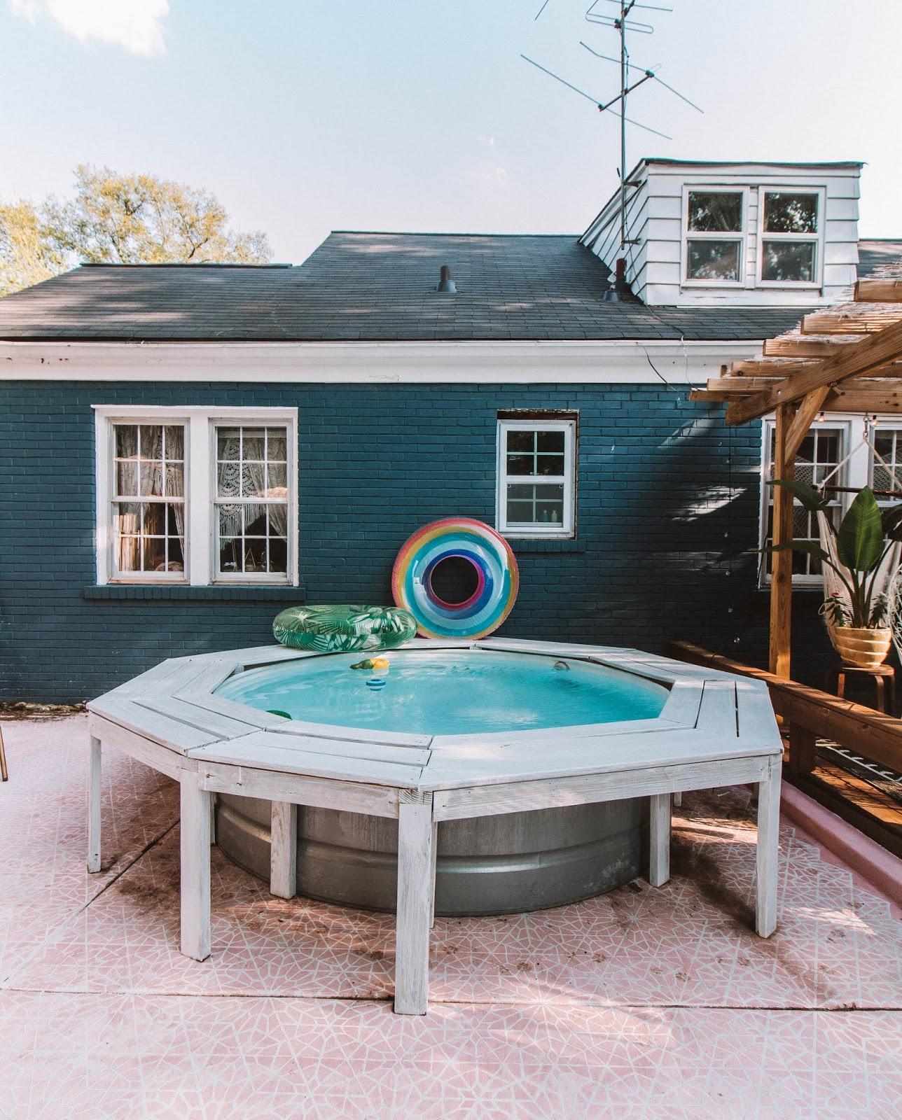 Home Tour Our Diy Boho Backyard Oasis