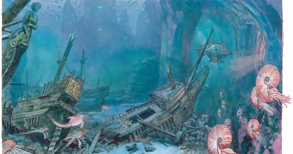 Gurney Journey Sunken Entrance To The World Beneath