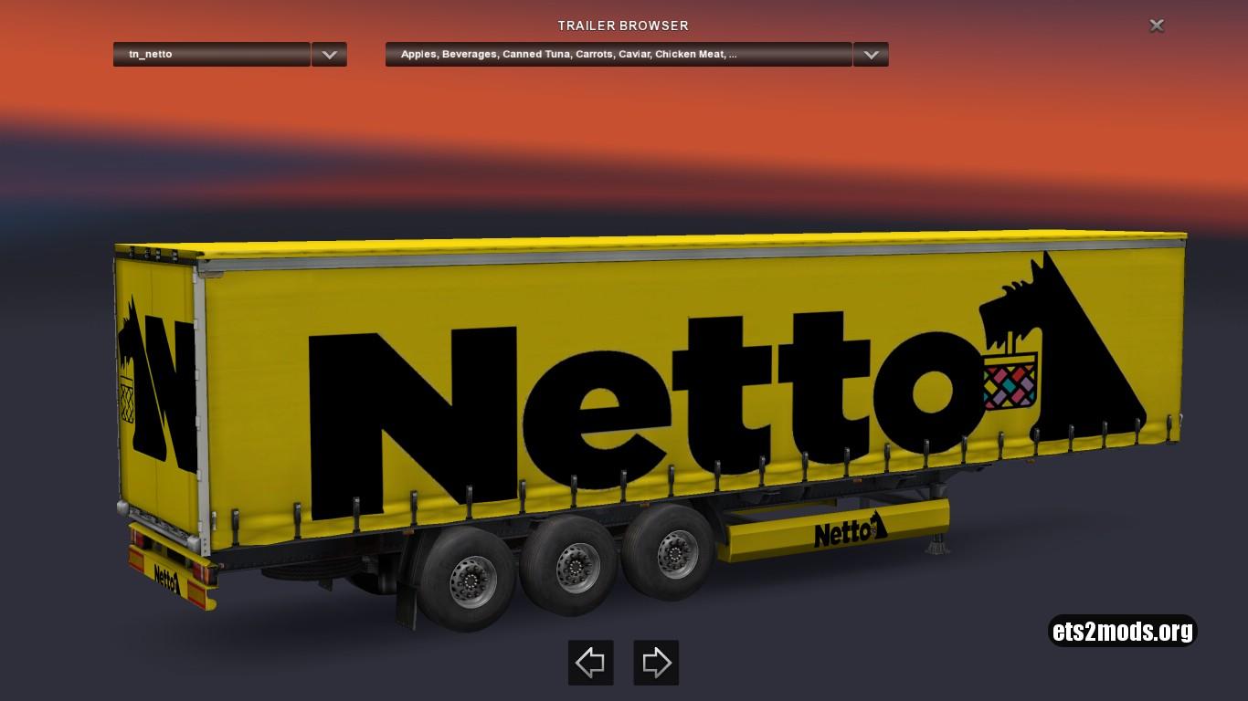 Standalone Netto Trailer