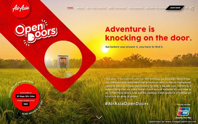 AirAsia Open Doors Challenge