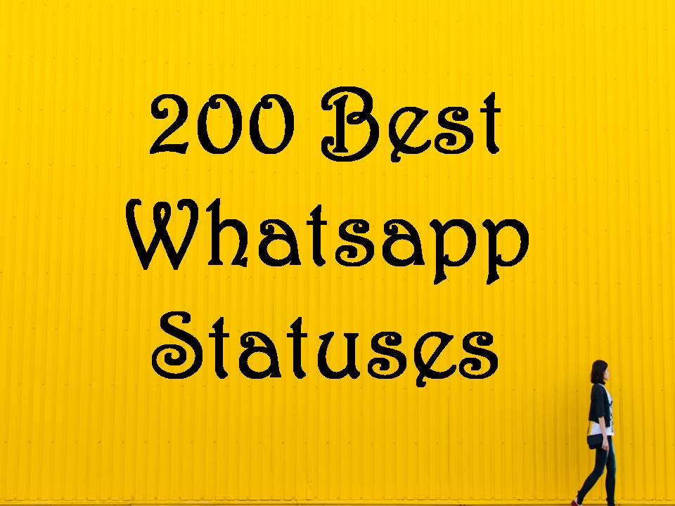 The Best Smart Phrases For Whatsapp Status Web Trendings