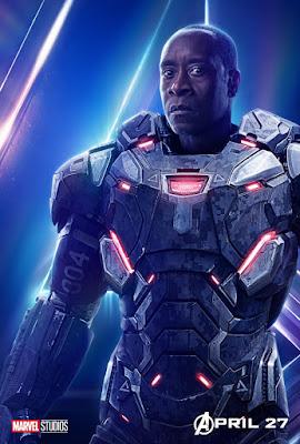 Marvel's Avengers: Infinity War Teaser Character One Sheet Movie Poster Set