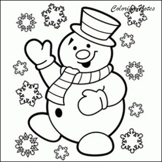 20 cute snowman coloring pages for kids easy free and printable  coloring pages for kids free