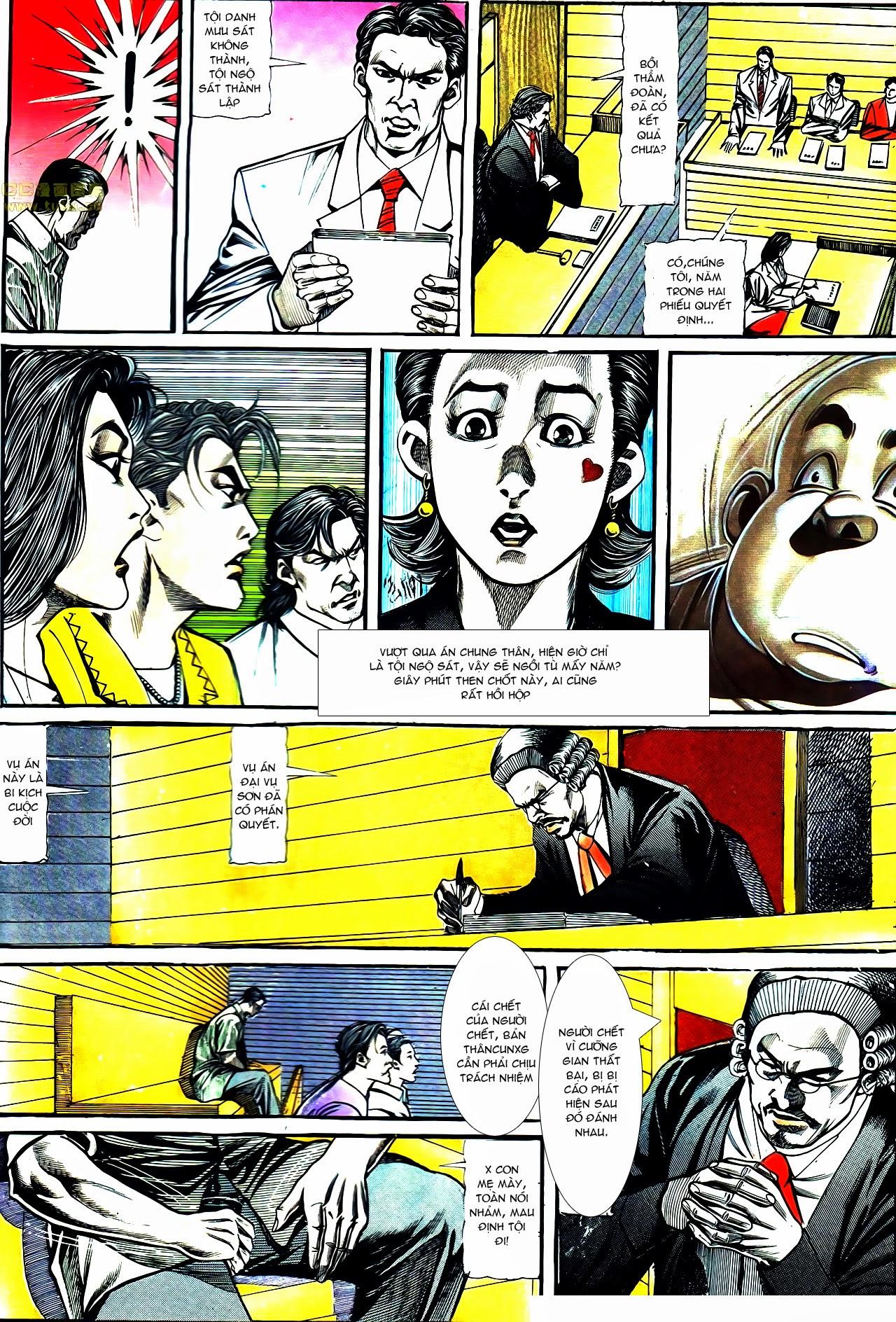 Người Trong Giang Hồ chapter 119: tù chung thân trang 24