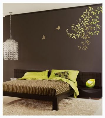 Inside the Frame: Textured Walls | Stencils