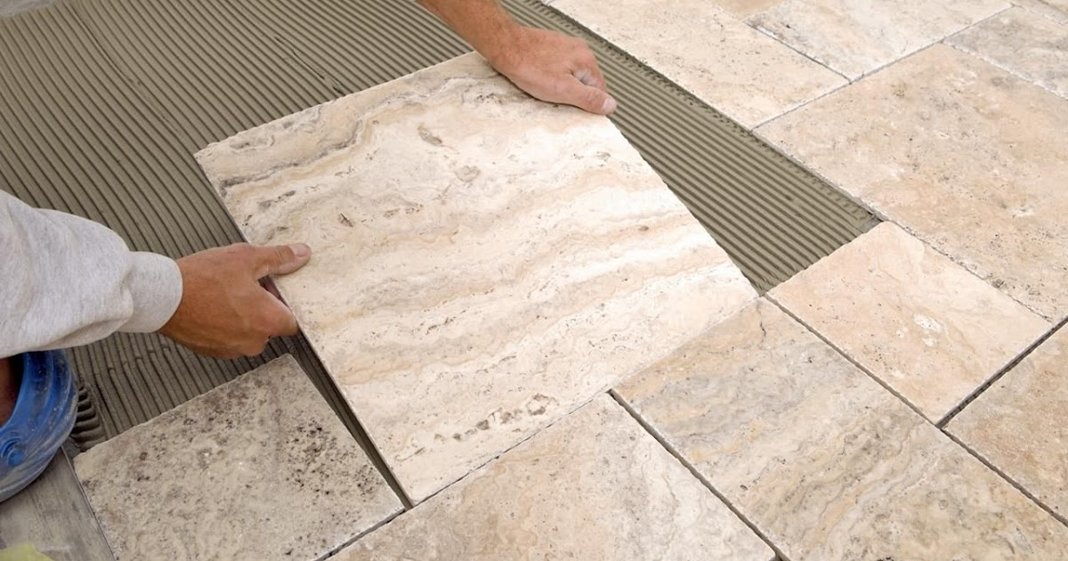 cara mudah memasang granit dengan