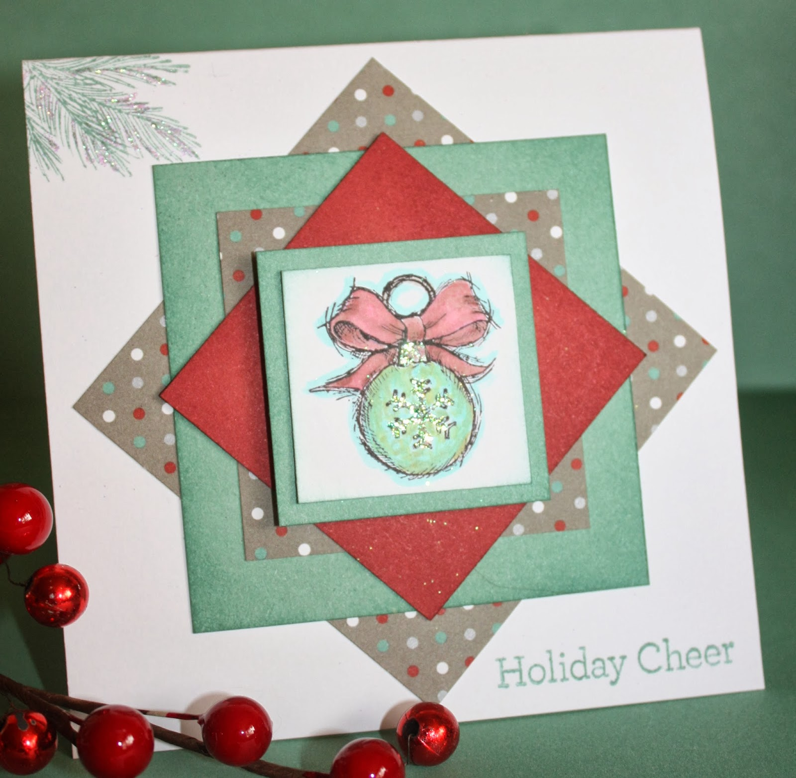Saving Memories With Cindy: Close To My Heart Christmas