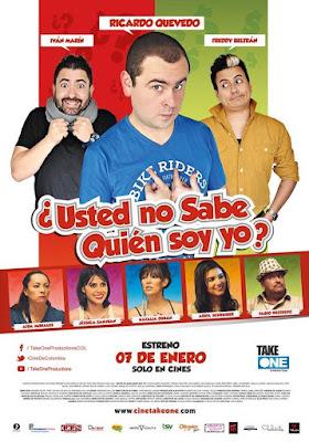 ¿Usted No Sabe Quién Soy Yo? 2016 DVD Custom NTSC Latino