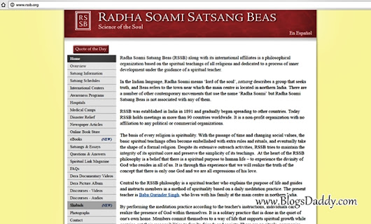 Download Radha Soami Satsang Beas Audio MP3 Shabads from RSSB.org