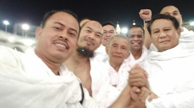 BOCOR BOCOR !! Prabowo Menari Pedang di Depan Para Pejabat Kerajaan Arab Saudi
