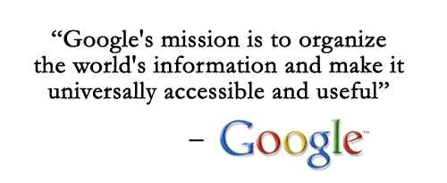 mission and vision google