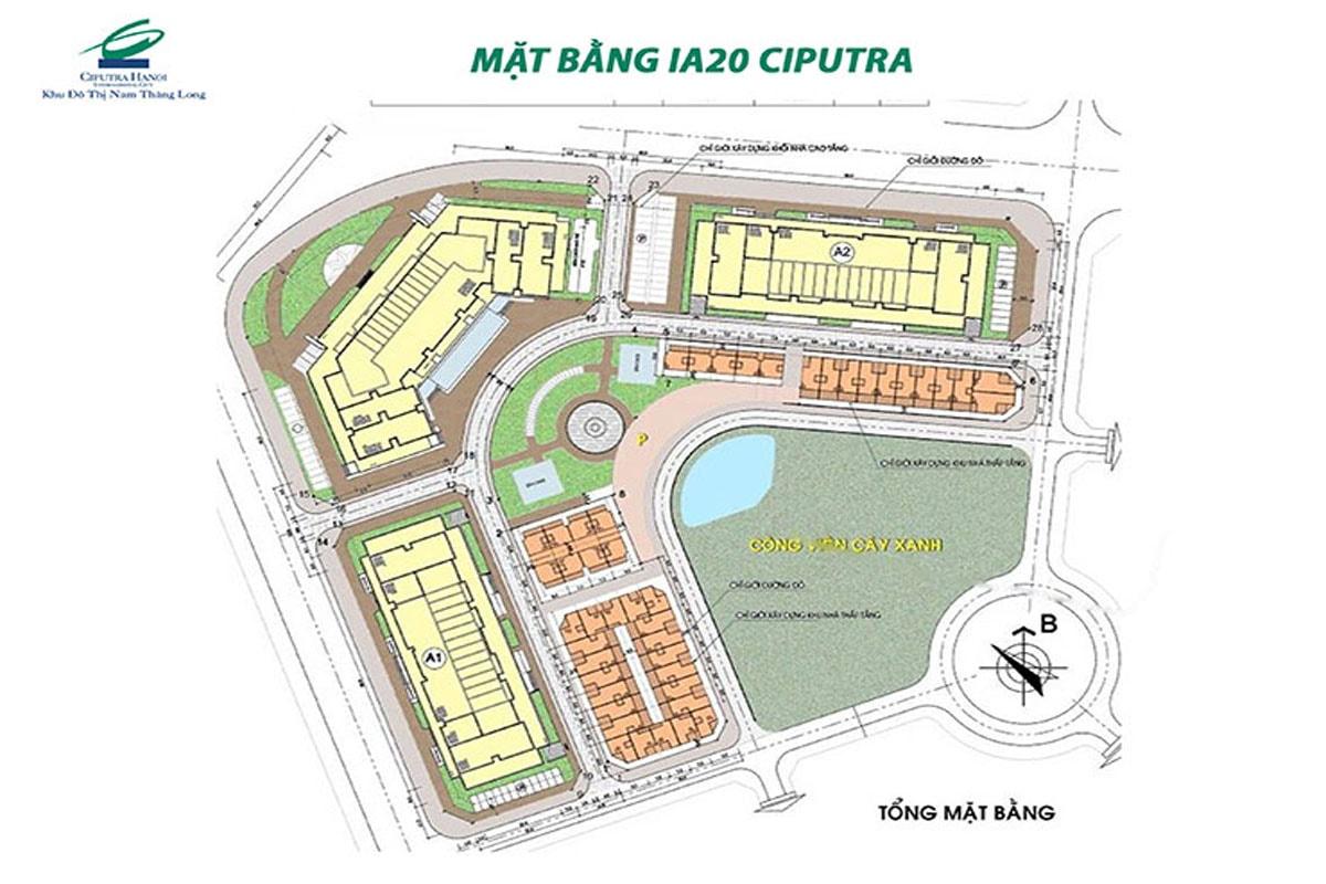 Mặt bằng dự án IA20 Ciputra