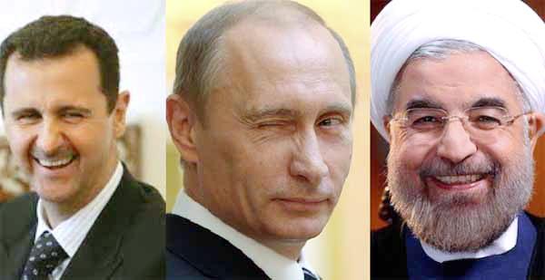 Sukses Membantai Kaum Muslimin Di Aleppo, Presiden Iran Ucapan Selamat Pada Bashar Asad