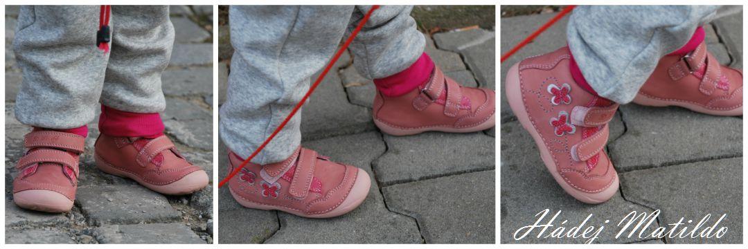 DD step, barefoot, dětské botičky