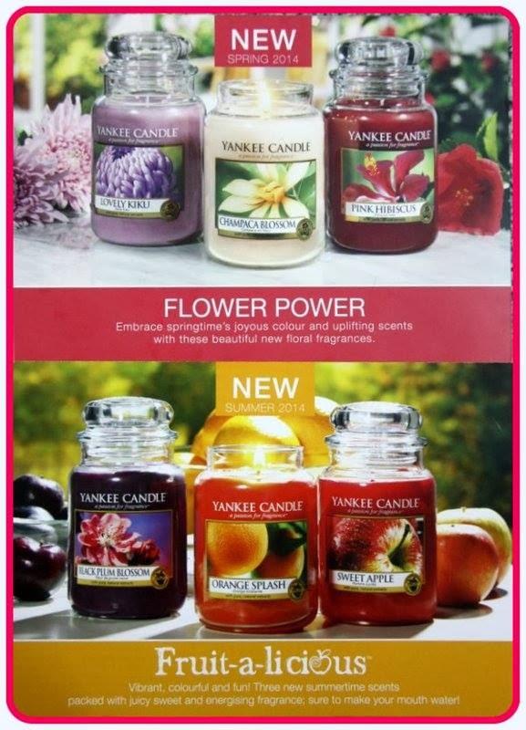 Nowości Yankee Candle Q1 2014 Flower Power i nie tylko