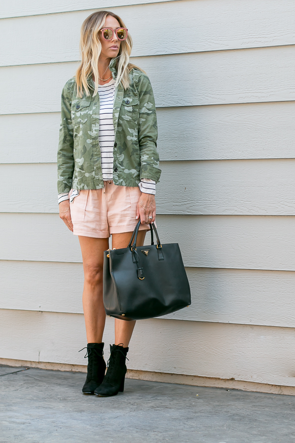 how to wear fall items in summer