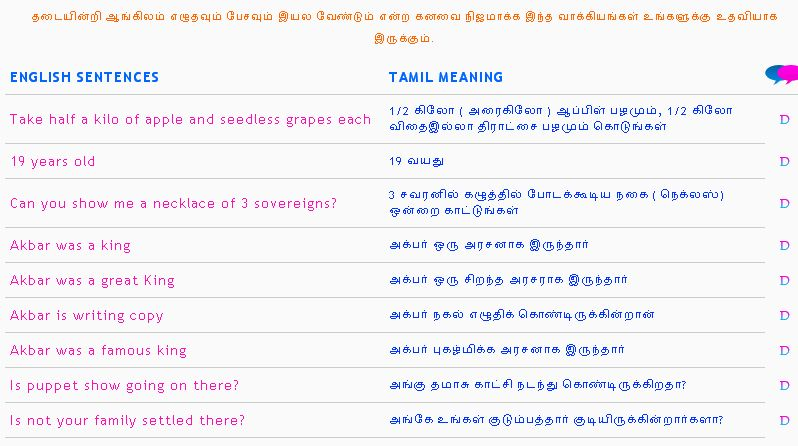 Tamil Sentence Related Keywords & Suggestions - Tamil Sentence Long