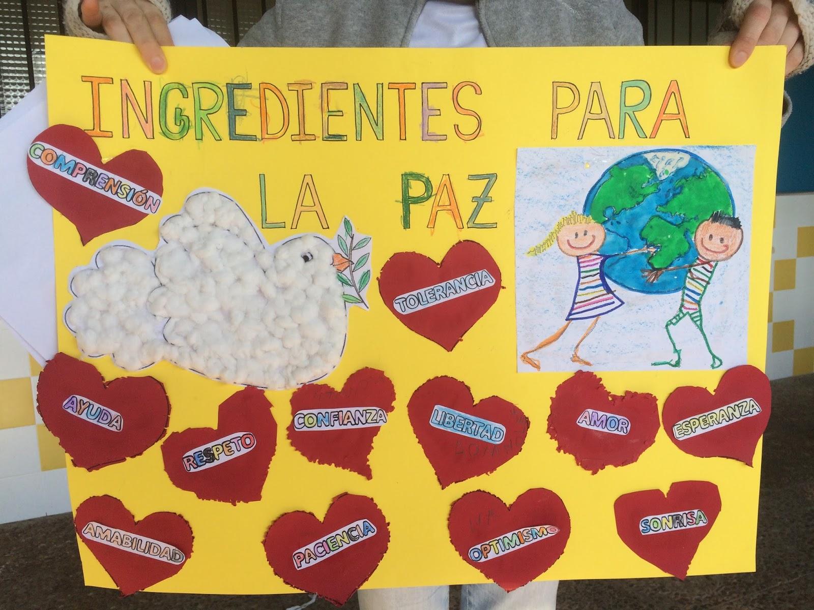 Día De La Paz Galería De Dibujos Y Carteles Niños Del: Blog Del CEIP Ntra. Sra. De La Paz (Sevilla): Febrero 2016