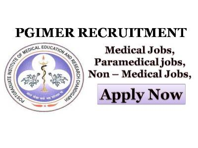 PGIMER, Nursing jobs, Staff nus, Nursing, Jobs 2018, Recruitment, 2018