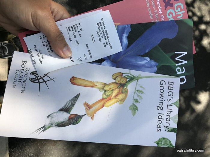 Lo mejor de nueva york jard n bot nico de brooklyn paisaje libre for Brooklyn botanical garden tickets