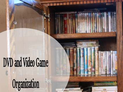DVD's and Video Games Organization