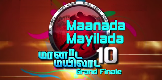 Manaada Mayilaada Season 10 Grand Finale on 24 October 2015