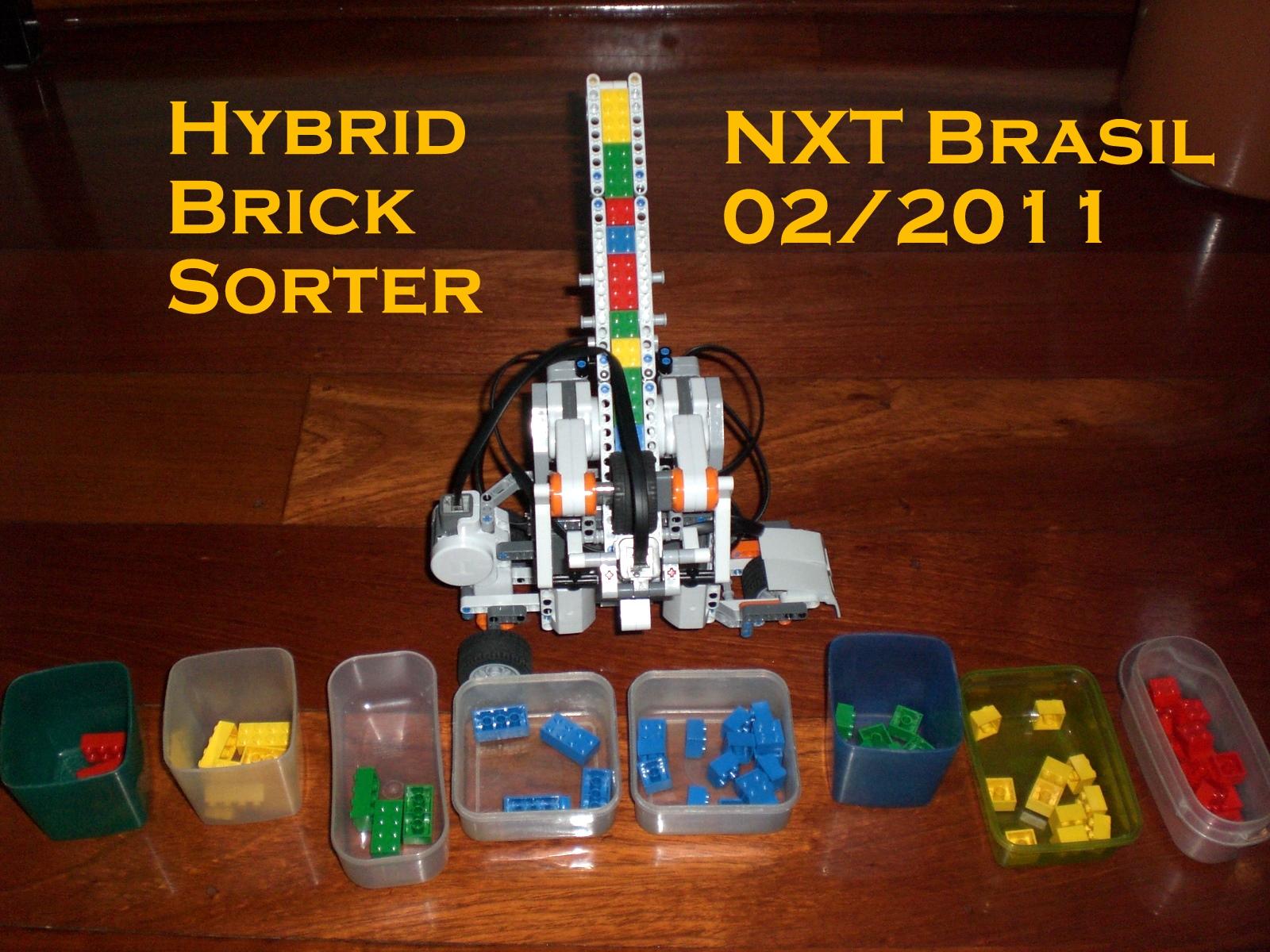 NXT Brazil: Hybrid Brick Sorter