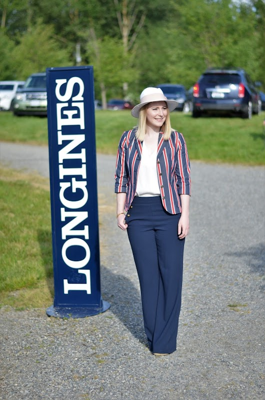 Preppy Equestrian Style for the FEI Nations Cup